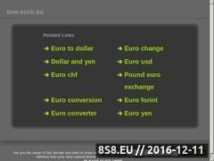 Miniaturka domeny one-euro.eu