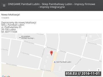 Zrzut strony Paintball Lublin - sklep paintballowy Lublin