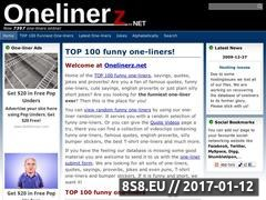 Thumbnail of Funny one-liners Website