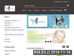 Miniaturka domeny online.zoosklep-mariposa.pl