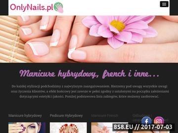 Zrzut strony Stylizacja paznokci