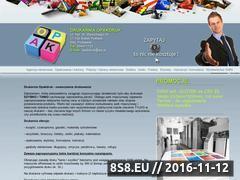 Miniaturka Oferujemy reklamę, druk, plakaty i ulotki (opakdruk.pl)