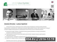 Miniaturka domeny www.opalinski.eu