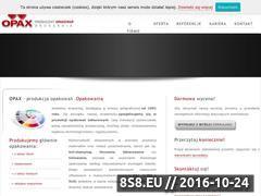 Miniaturka domeny www.opax.pl