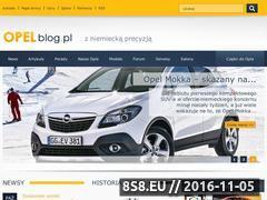 Miniaturka domeny opel-blog.pl
