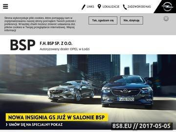 Zrzut strony Auto komis Łódź - BSP OPEL