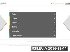 Miniaturka domeny www.opel24.pl