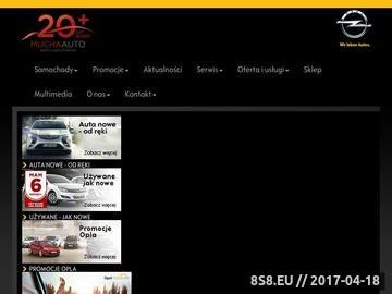 Zrzut strony Salon Opel - Mucha Sp. J.