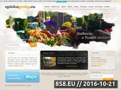 Miniaturka domeny opiekagroby.eu