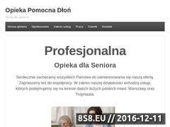 Miniaturka domeny opiekapomocnadlon.pl
