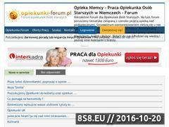 Miniaturka domeny www.opiekunki-forum.pl
