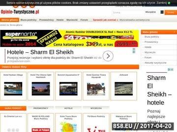 Zrzut strony Oceny biur podróży, linie lotnicze, forum - portal opinie turystyczne