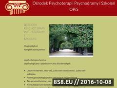 Miniaturka domeny www.opis.waw.pl