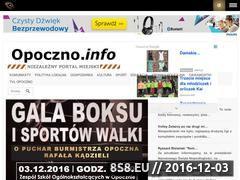 Miniaturka domeny opoczno.info