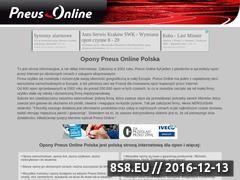 Miniaturka domeny www.opony-pneus-online.pl