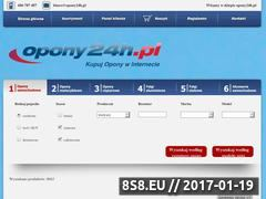Miniaturka domeny www.opony24h.pl