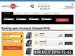 Miniaturka domeny www.oponylux.pl