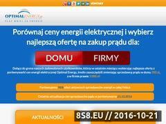 Miniaturka domeny optimalenergy.pl