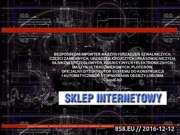 Zrzut strony Części zamienne do maszyn szwalniczych optimasz.com.pl