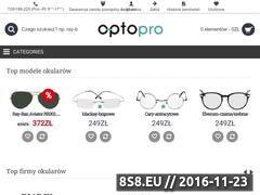 Miniaturka domeny www.optopro.pl