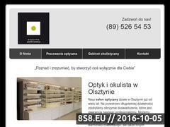 Miniaturka domeny www.optyklawrynowicz.pl