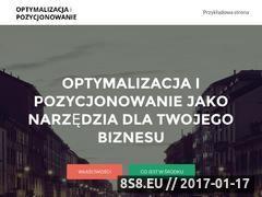 Miniaturka domeny optymalizacja-i-pozycjonowanie.pl