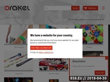 Zrzut strony Orakel - artykuły eventowe