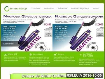 Zrzut strony Kosmetyki Oriflame | Konsultant Oriflame