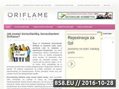 Miniaturka domeny www.ori-konsultantka.pl