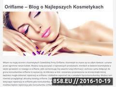 Miniaturka domeny www.oribeauty.pl