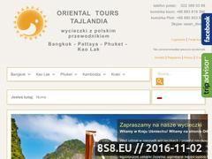 Miniaturka domeny orientalphuket.com
