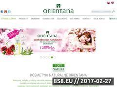 Miniaturka domeny www.orientana.pl
