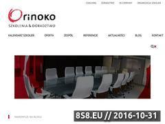 Miniaturka domeny www.orinoko-szkolenia.pl