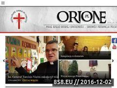 Miniaturka domeny orione.pl