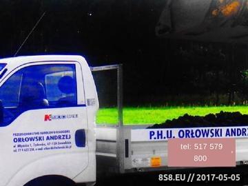 Zrzut strony PHU Andrzej Orłowski - usługi transportowe
