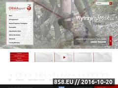 Miniaturka domeny www.ormasport.pl