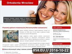Miniaturka domeny ortodoncja-aparaty.pl