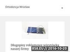 Miniaturka domeny ortodoncja.wroclaw.pl