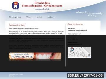Zrzut strony Ortodonta Katowice i stomatologia estetyczna Katowice