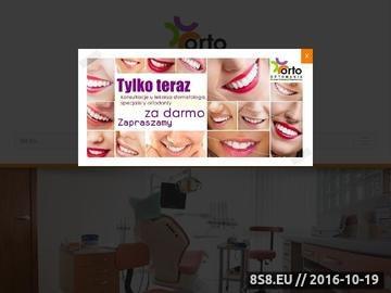 Zrzut strony Ortodonta Kraków