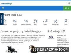 Miniaturka domeny www.ortopedio.pl