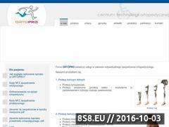 Miniaturka domeny www.ortopro.pl
