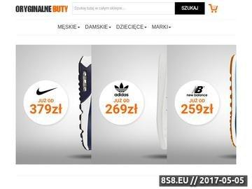 Zrzut strony Oryginalnebuty.pl