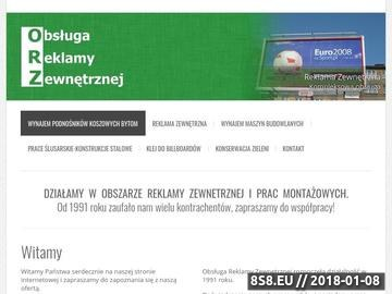 Zrzut strony Wynajem podnośników koszowych Śląsk