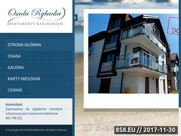Zrzut strony Apartamenty nad morzem Gdańsk