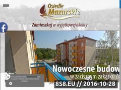 Miniaturka domeny osiedlemazurskie.pl