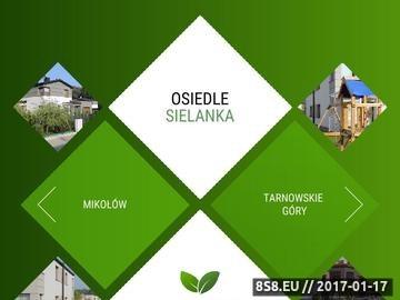 Zrzut strony Deweloper z Tarnowskich Gór - OSIEDLE SIELANKA