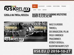 Miniaturka domeny www.osk-relax.com