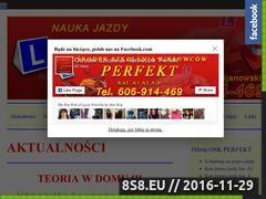 Miniaturka Ośrodek Szkolenia Kierowców PERFEKT (www.oskperfekt.com.pl)