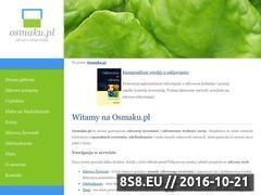 Miniaturka domeny www.osmaku.pl